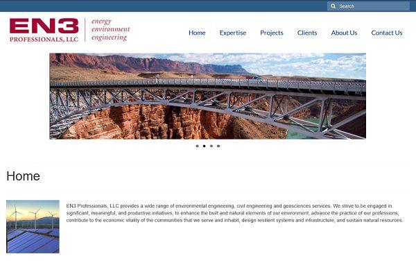 EN3 Professionals, LLC Website