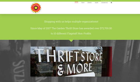 Garden Thrift Website